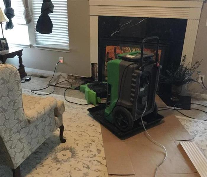 Water loss to home in Indianapolis After