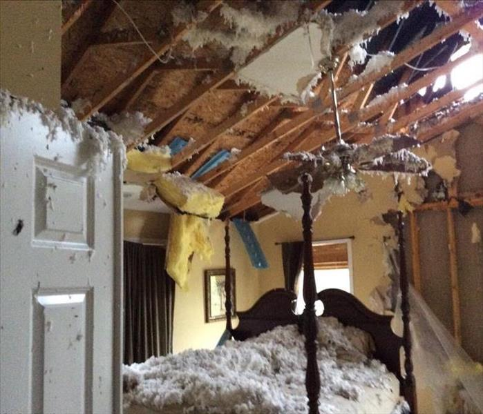 Lightning strike causes damage to home in Zionsville, IN