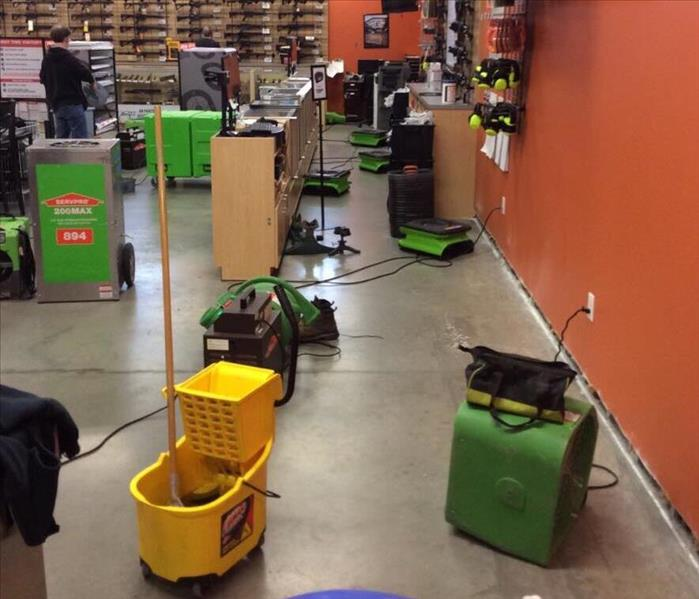 SERVPRO of Hendricks County Commercial Fire loss leads to Water loss
