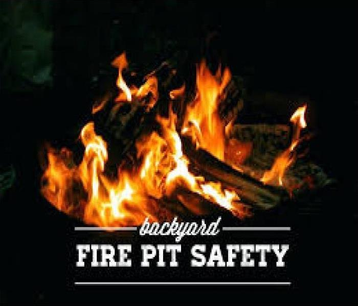 Why SERVPRO Safety Tips for your Outdoor Entertaining with a Fire Pit